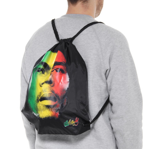 Bob Marley - RFace Nylon Cinch Bag