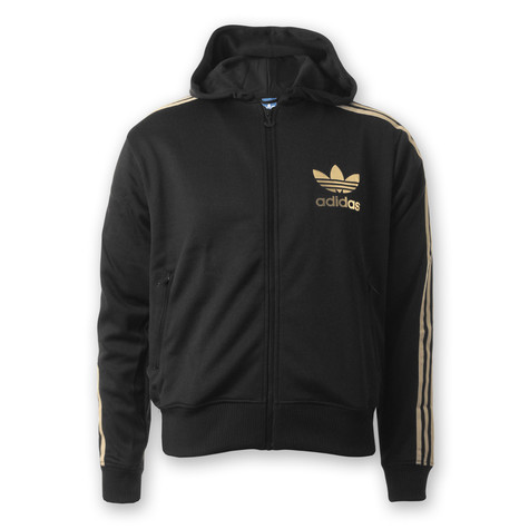 adidas - Adicolor Hooded Flock Track Top