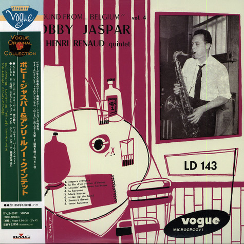 Bobby Jaspar & Henri Renaud Quintet - New Sound From Belgium Vol. 4