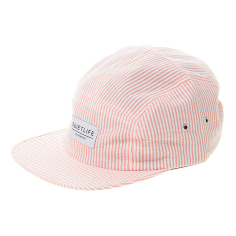 The Quiet Life - Seersucker 5-Panel Hat