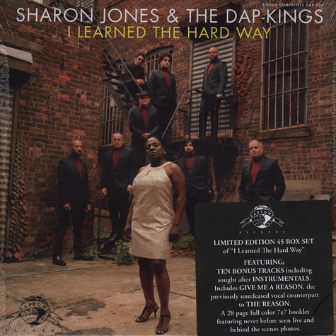 "Sharon Jones & The Dap-Kings - I Learned The Hard Way 7"" Box"
