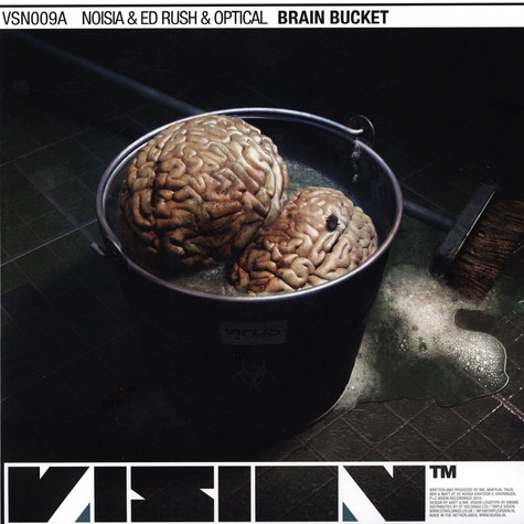 Noisia & Ed Rush / Noisia & Spor - Brain Bucket / Falling Through