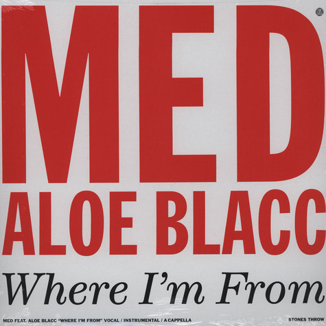 Medaphoar - Where I'm From Feat. Aloe Blacc