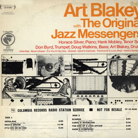 Art Blakey With The Original Jazz Messengers - Art Blakey With The Original Jazz Messengers