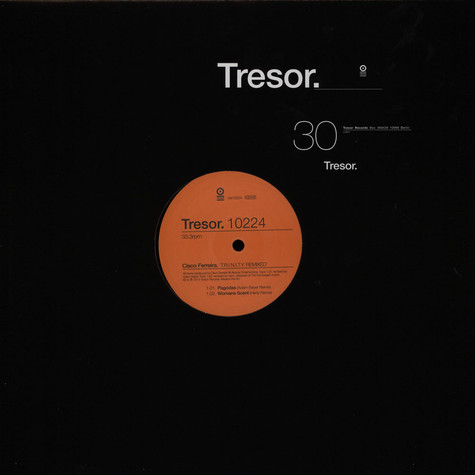 Cisco Ferreira a.k.a. The Advent - T.r.i.n.i.t.y. Remixes