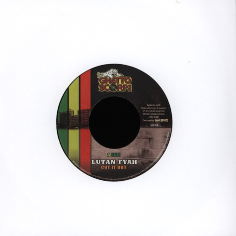 Lutan Fyah / Sena - Cut It Out / Work In It