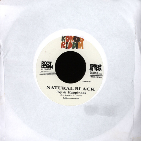 Natural Black / Nosliw - Joy and Happiness / Nazis Raus