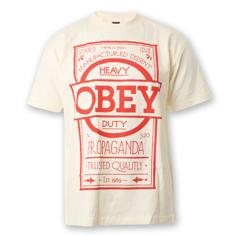 Obey - Label T-Shirt