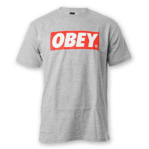 Obey - Bar Logo T-Shirt