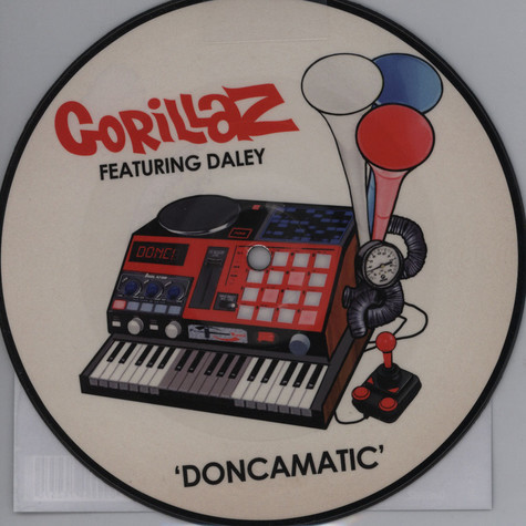 Gorillaz - Doncamatic feat. Daley
