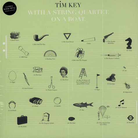 Tim Key - With A String Quartet On A Boat
