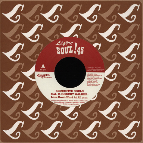 Seductive Souls - Love Don't Hurt It All Smoove Remix