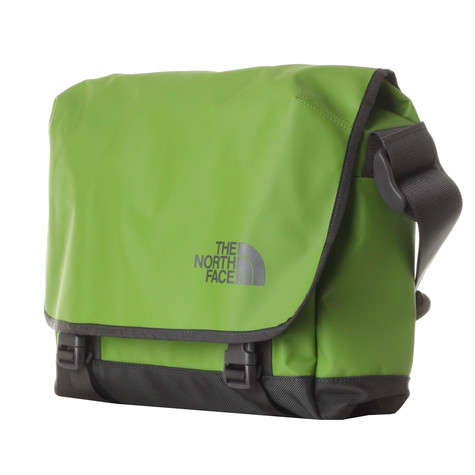 513e8fc862fe The North Face - Base Camp Messenger Bag (Lcd Green)
