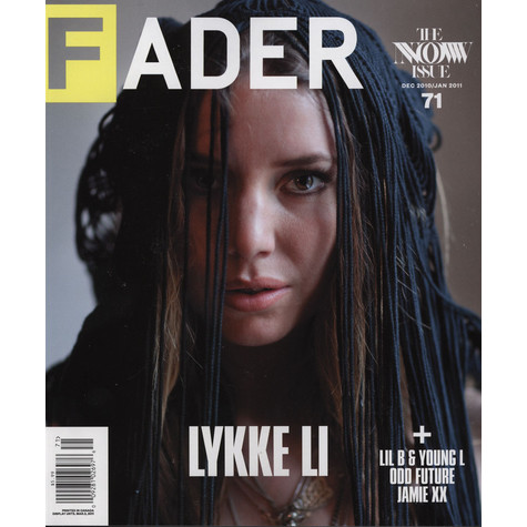 Fader Mag - 2010 / 2011 - December / january - Issue 71