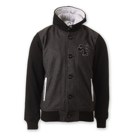 Akomplice - Hooded Varsity Jacket