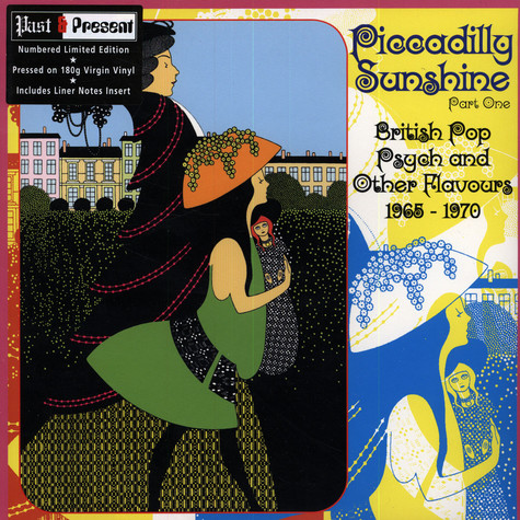 V.A. - Piccadilly Sunshine Part One - British Pop Psych And Other Flavours 1968-1970