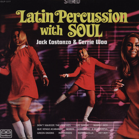 Jack Constanzo & Jerry Woo - Latin Percussion With Soul