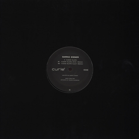 Darko Esser - Clean Slate Dvs1 & Lucy Remixes