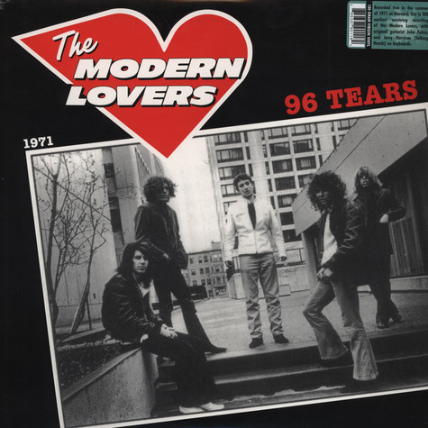 Modern Lovers - 96 Tears