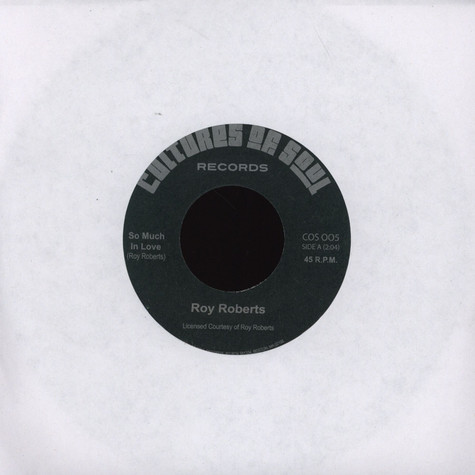 Roy Roberts - So Much In Love / You Move Me