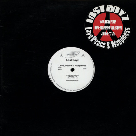 Lost Boyz - Love, Peace And Nappiness