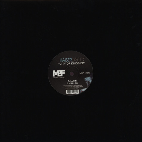 Kaiserdisco - City Of Kings EP
