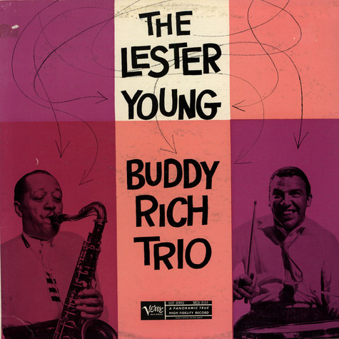 Lester Young - Buddy Rich Trio, The - The Lester Young - Buddy Rich Trio