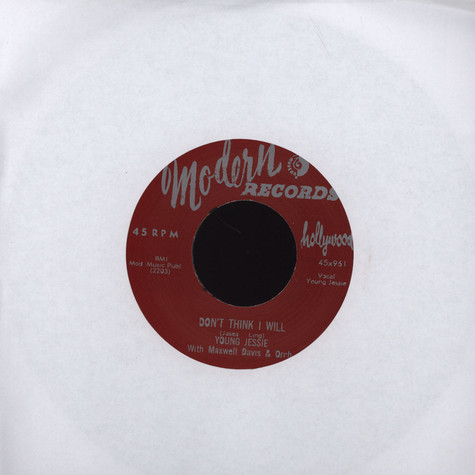 Young Jessie - Mary Lou / Don't Think I Will