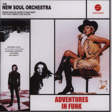 New Soul Orchestra - Adventures In Funk
