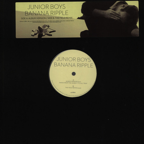 Junior Boys - Banana Ripple