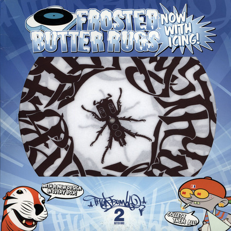 Frosted Butter Rugs - Beedle with tag slipmat