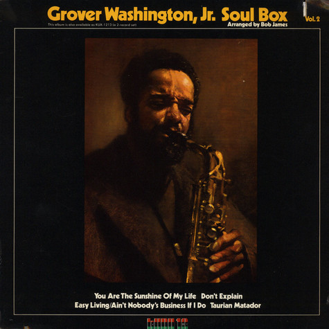Grover WashingtonJr. - Soul Box Vol. 2