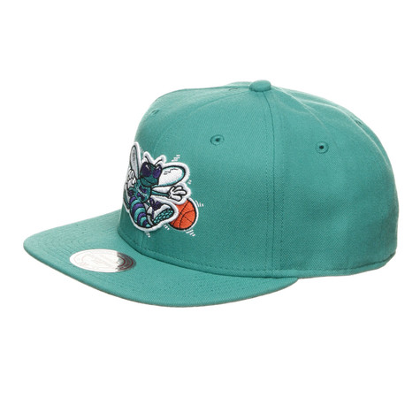 Mitchell & Ness - Charlotte Hornets NBA Basic Solid Team Snapback Cap