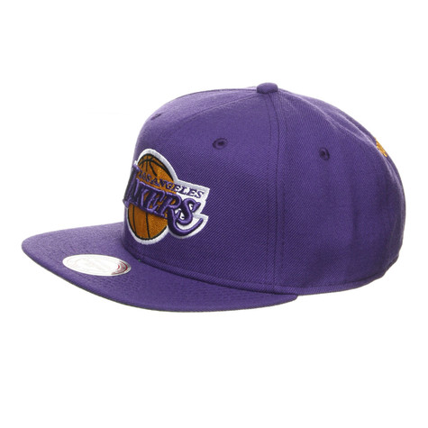 Mitchell & Ness - Los Angeles Lakers NBA Basic Solid Team Snapback Cap