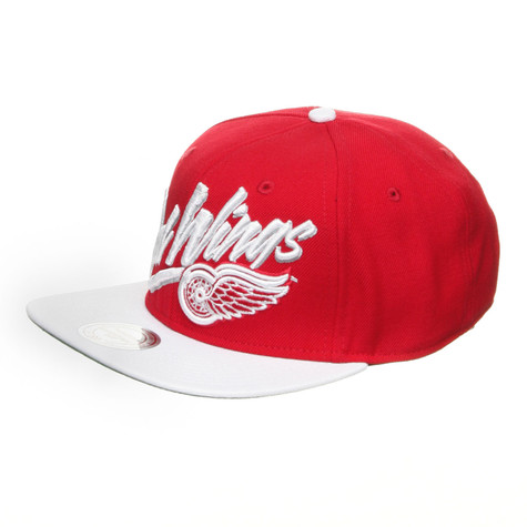 Mitchell & Ness - Detroit Red Wings NHL Vice Script Snapback Cap
