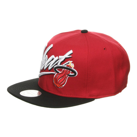 Mitchell & Ness - Miami Heat NBA Vice Script Snapback Cap