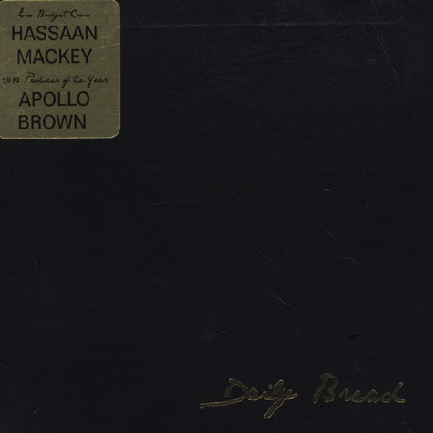 Hassaan Mackey & Apollo Brown - Daily Bread