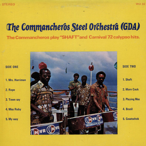 Commancheros Steel Orchestra, The (GDA) - The Commancheros Play Shaft and Carnival 72 Calypso Hits