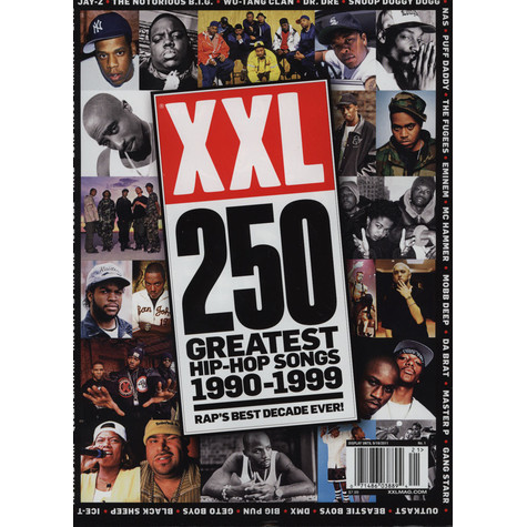 XXL - 250 Greatest Hip-Hop Songs 1990-1999