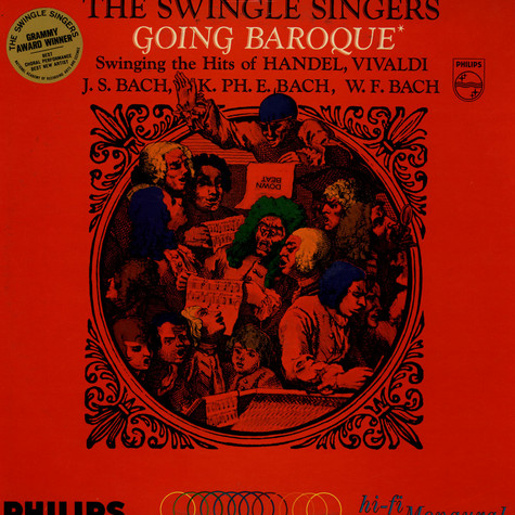 Swingle Singers, The - The Swingle Singers Going Baroque