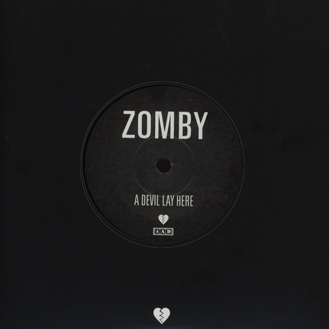 Zomby - A Devil Lay Here