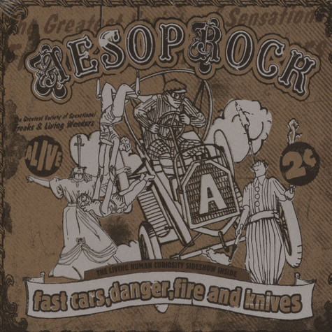Aesop Rock - Fast Cars, Danger, Fire & Knives Deluxe Edition
