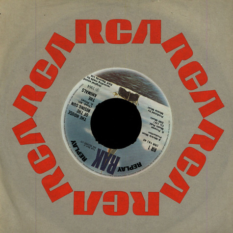 Animals, The - The House Of The Rising Sun / Don't Let Me Be Misunderstood / I'm Crying