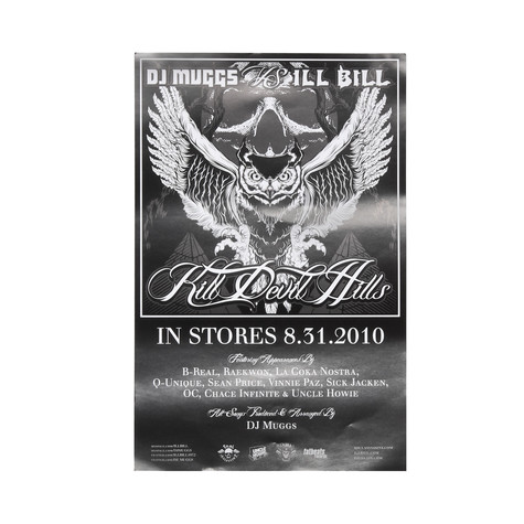 DJ Muggs Vs. Ill Bill - Kill Devil Hills Poster