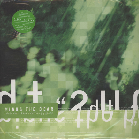 Minus The Bear - This Is What I Know About Being...