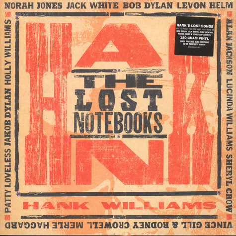 V.A. - The Lost Notebooks Of Hank Williams