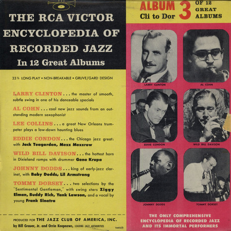 V.A. - The RCA Victor Encyclopedia Of Record Jazz - Album 3 - Cli-Dor