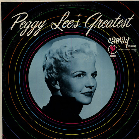 Peggy Lee - Peggy Lee's Greatest