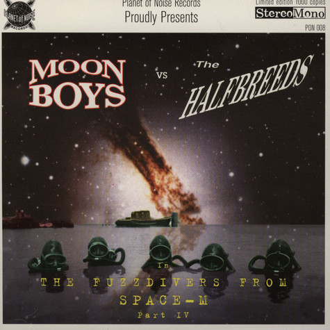 Moon Boys / The Halfbreeds - Split EP