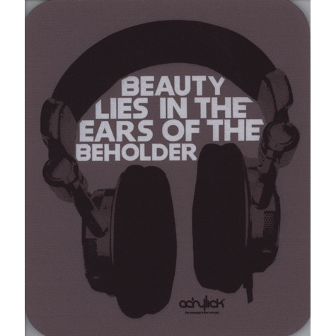 Acrylick - Beauty Lies Mousepad